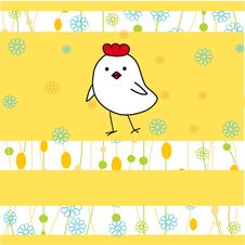 Free Easter Card Royalty Free Stock Photography - 15969267