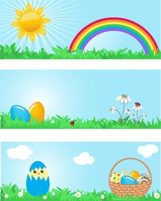 Free Easter Card Royalty Free Stock Photography - 15969337