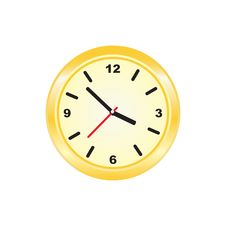 Free Golden Clock Stock Image - 15969431