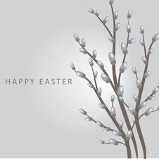 Free Easter Card Royalty Free Stock Photos - 15969768
