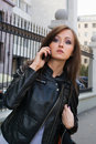 Free Beautiful Young Woman Talking On Mobile Phone Royalty Free Stock Photos - 15974048