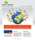 Free Website Template Royalty Free Stock Photos - 15976368