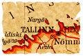Free Tallinn, Estonia Old Map Royalty Free Stock Photo - 15977155