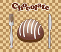 Free Card With Chocolate Candy Stock Photography - 15979282