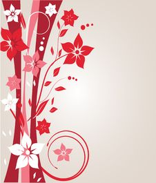 Free Abstract Floral Background Royalty Free Stock Photo - 15970265