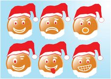 Santa Smiley Royalty Free Stock Photography