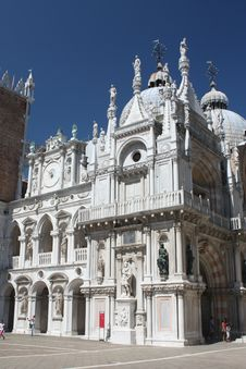 The Doge S Palace From Inside Stock Image