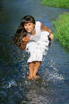 Free Summer Splash Royalty Free Stock Photography - 15974017