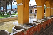 Free Ancient Washbasins. Antigua, Guatemala Stock Photos - 15974473