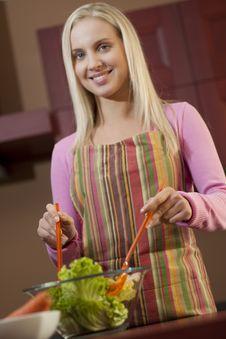 Free Preparing Dinner Stock Images - 15974594