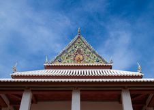 Free Temple Gable Royalty Free Stock Images - 15974619