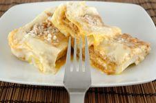 Free Lasagne Dish Royalty Free Stock Photo - 15975615