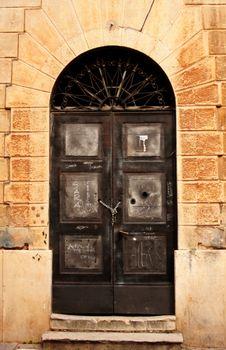 Old Street Of Kotor. Royalty Free Stock Photos