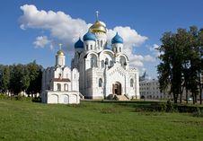 Free Nikolo-Ugreshsky Monastery, Dzerzhinsky Stock Image - 15976561