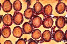 Free Plum Pie Royalty Free Stock Image - 15976596