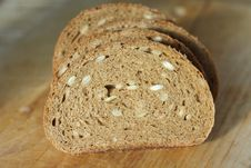 Free Black Bread With Seeds Royalty Free Stock Photography - 15976947