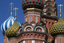 Free Fragment Of St. Basil S In Moscow, Russia. Royalty Free Stock Photos - 15977218