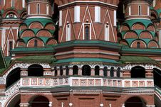 Free Fragment Of St. Basil S Cathedral In Moscow Stock Images - 15977224