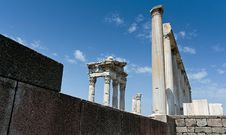 Free Antique Ruins In Ephesus Royalty Free Stock Image - 15977516