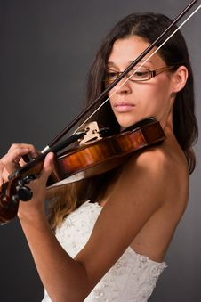Free Professional Violinist Royalty Free Stock Photography - 15977897