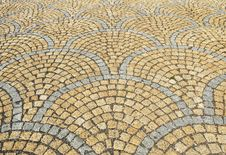 Ornamental Road Surface Royalty Free Stock Photo