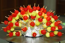 Free Sweet Skewer Royalty Free Stock Photography - 15978327