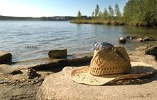 Free The Straw Hat Royalty Free Stock Photo - 15978455