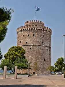 Free THE WHITE TOWER AT THESSALONIKI CITY Stock Photo - 15978750