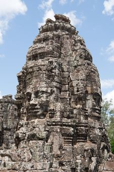 Free Angkor - The Bayon Royalty Free Stock Image - 15978776