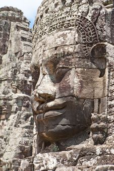 Free Angkor - The Bayon Royalty Free Stock Photos - 15978778