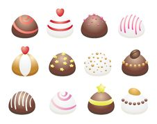 Free Chocolate Candies Stock Photography - 15979222