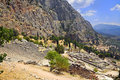 Free Ruins Of The Ancient City Delphi, Greece Stock Photography - 15986042