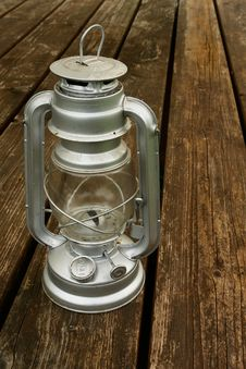 Old Kerosene Lamp Royalty Free Stock Photos