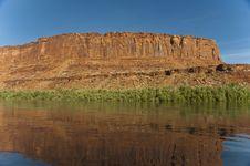 Free Green River Sunrise Stock Photography - 15980752