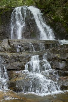 Waterfall - Lauren Falls Royalty Free Stock Image
