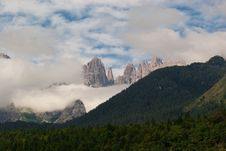 Free Trentino Mountain Scenery Stock Photo - 15981450