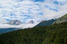 Free Trentino Mountain Scenery Stock Photos - 15981453