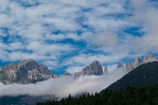 Free Trentino Mountain Scenery Royalty Free Stock Image - 15981456