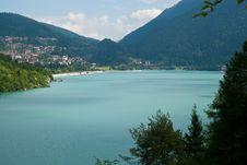 Free Molveno Lake, In Trentino Royalty Free Stock Photos - 15981458