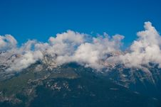 Free Trentino Mountain Scenery Stock Photography - 15981522