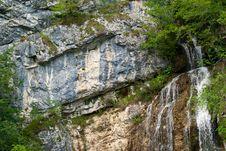 Free Waterfall Molveno Stock Images - 15981524