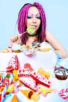 Free Candy Royalty Free Stock Photography - 15981687