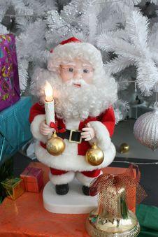 Santa Doll Royalty Free Stock Images