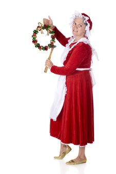 Free Mrs. Claus Decorating Stock Image - 15982281