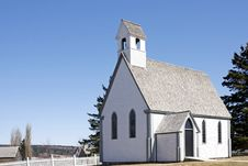 Free Loyalist Church At Kings Landing, New Brunswick Stock Photography - 15982812