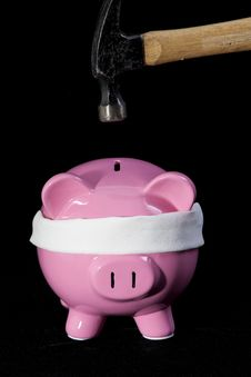Free Raiding The Piggy Bank Stock Images - 15983054