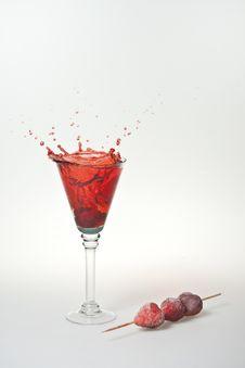 Free Strawberry Splash Stock Photos - 15984003