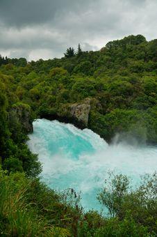 Free Huka Falls, Taupo Royalty Free Stock Images - 15985199