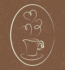 Free Coffee Symbol Royalty Free Stock Photos - 15985278