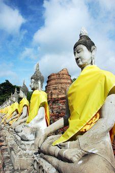 Free Buddha Ayutthaya Royalty Free Stock Photo - 15985395